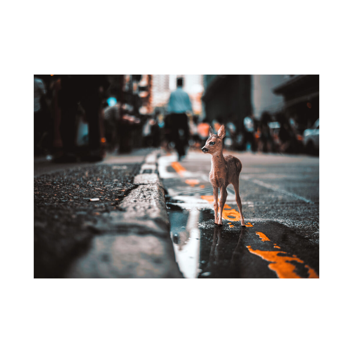 Bambi in the streets